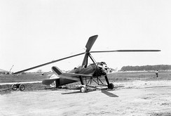 Pitcairn PCA-2 autogyro, built in the U.S. under licence to the Cierva Autogiro Company