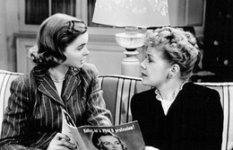 Dorothy McGuire and Spring Byington in the short film Reward Unlimited (1944)