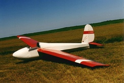 Schweizer SGS 1-26 one-design sailplane