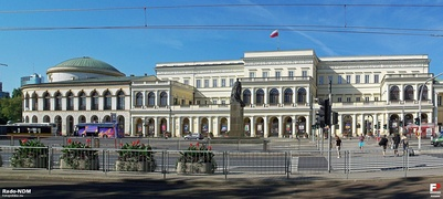 The seat of the administration of the Masovian Voivodeship