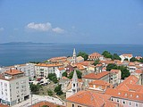 Panoramic view of Zadar
