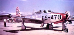 Republic P/F-84C-6-RE Thunderjet AF Serial No. 47-1479 of the 33d Fighter Wing - 1948