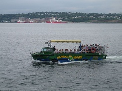 LARC-V converted for harbour tours in Halifax, Nova Scotia