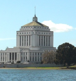 The Alameda County Superior Courthouse, completed in 1934