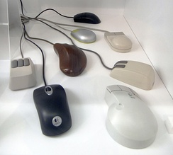 Computer mice built between 1986 and 2007
