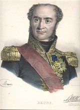 Brune as a Marshal of the Empire