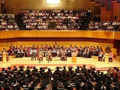 A Cardiff University graduation ceremony in 2006