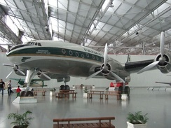 A Lockheed Constellation L-049 preserved at TAM Museum