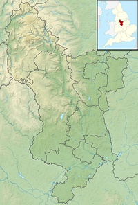 Kinder Scout is located in Derbyshire