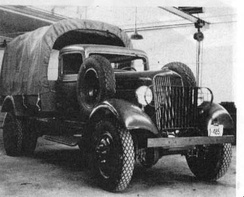 1934 K-39-X-4(USA) – Dodge's first Army 4x4 truck