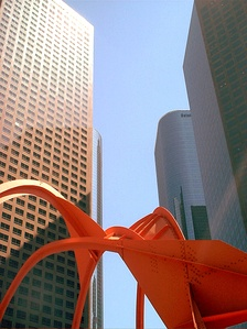 Offices in the Los Angeles Downtown Financial District