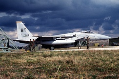Capt. John T. Doneski of the 53rd FS shot down an Iraqi Su-22M flying 84-014 on 20 March 1991.