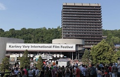 The Karlovy Vary Film Festival is the largest film festival in the Czech Republic