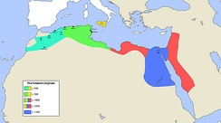 Fatimid Caliphate, a Shia Ismaili dynasty that ruled much of North Africa, c. 960–1100