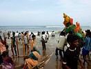 Immersion in sea, Chennai