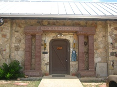 Entrance to the Frontier Times Museum in Bandera