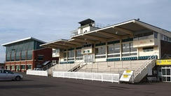 The Grandstand at the racecourse