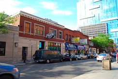 Greektown Historic District in Detroit