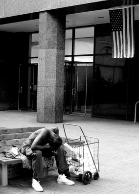 Homeless in New York