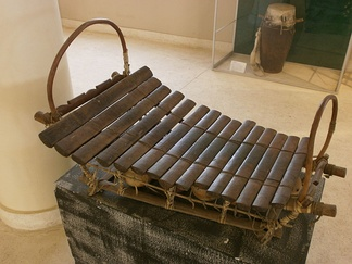 A Bwa xylophone.