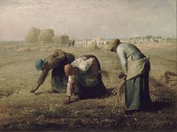 Jean-François Millet, The Gleaners, 1857