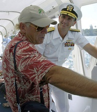 Buffett in Hawaii in June 2003