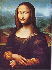 Copy of Mona Lisa commonly attributed to Salaì