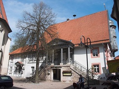 Altes Rathaus, side view