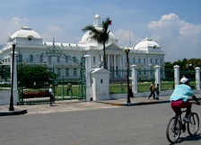 The National Palace in Port-au-Prince, Haiti before the 2010 earthquake.
