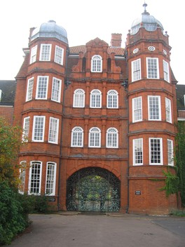 Pfeiffer Arch - the main entrance to the college before the Porters' Lodge moved to Sidgwick Avenue
