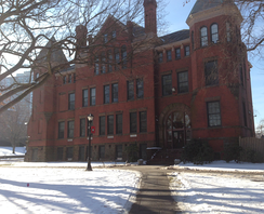 New Jersey Hall on the New Brunswick College Avenue Campus was the home of the Agricultural Experiment Station, Biology and Chemistry faculty. It now houses the university's Department of Economics.
