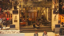 SNL's main stage, during rehearsal, 2008