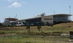 Robert L. Bradshaw International Airport on St Kitts