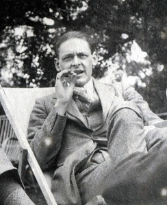 Eliot in 1923 by Lady Ottoline Morrell