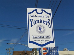 Yonkers Welcome Sign