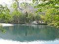 Нижнее Голубое озеро осенью