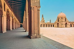 The Ibn Tulun Mosque in Cairo, of Ahmad Ibn Tulun