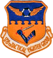 Legacy 178th Tactical Fighter Group patch, about 1990