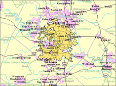 City limits of Austin