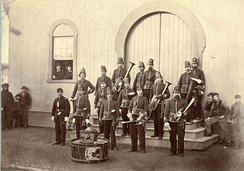Band for the 10th Veteran Reserve Corps during the American Civil War