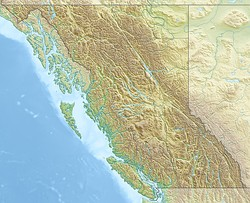 The epicenters were south and a bit west of the center of British Columbia.