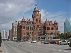 The Dallas County Courthouse houses the Old Red Museum.