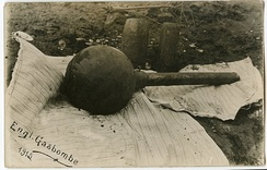 A British gas bomb that was used during World War I.
