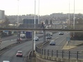 A58(M), Leeds Inner Ring Road by the Leeds International Pool
