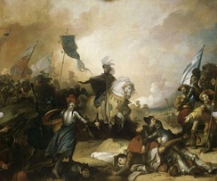 Francis I at the Battle of Marignano