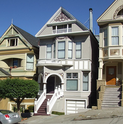 Joplin's house in Haight-Ashbury, where she lived with Country Joe[40]
