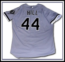 Hill donned a White Sox jersey in only two outings before being released by the team in 2000.