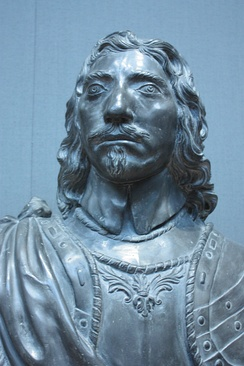 Lead bust of Thomas Fairfax, c.1650, National Portrait Gallery, London
