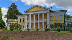 Lenin spent his final years largely at his Gorki mansion.