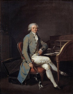 Portrait said to be of Robespierre by Boilly, c. 1783 (Palais des Beaux-Arts de Lille)